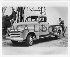1955 Chevrolet 3124 Cameo Carrier Pickup Truck Factory Photo Ref. # 32703