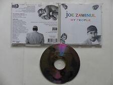CD Album JOE ZAWINUL My people CR 410 2
