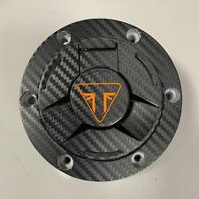Triumph Speed Triple RS Carbon look Fuel cap cover pad sticker