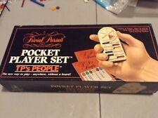 Trivial Pursuit TP's People History Pocket Player Travel Edition vintage 1987