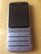 Nokia C3-01 - Silver (Unlocked) Mobile Phone