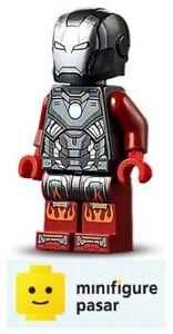 sh654 Lego Marvel Avengers 76166 - Iron Man Blazer Armor Minifigure - New