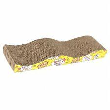 1X(Cat Kitten Corrugated Scratch Board Pad Scratcher Bed Mat Claws Care A1U4 GN8