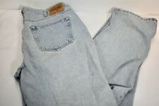 Men's GAP Relaxed Fit Light Wash Straight Leg Jeans 38/34