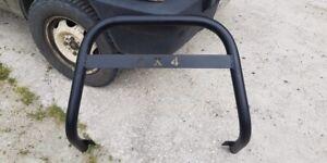 Bull Bar Roll Bar Anteriore  MAXI Protezione Fiat Panda 4x4 Fino Al 2004 !