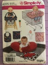 Baby Cart Cover And Other Items Simplicity Pattern# 4225 Size Osz- Uncut