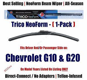 Super Premium NeoForm Wiper Blade (Qty 1) fits 1993-95 Chevrolet G10/G20 16180