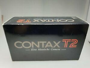 Contax T2 mit Carl Zeiss Sonnar 2,8/38mm T* Kompaktkamera OVP