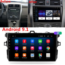 "For 06-12 Toyota Corolla 9"" Android 9.1 Car Radio Stereo Head Unit GPS 2+32GB FM"