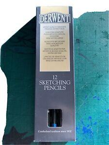 11 x BNIB Derwent sketching pencils 4B