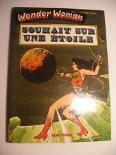 AREDIT ARTIMA MARVEL DC Comics BD Rigide WONDER WOMAN Souhait sur une etoile