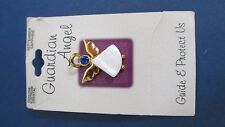 September birthstone Guardian Angel Gold Tone Genuine Austrian Crystal Pin