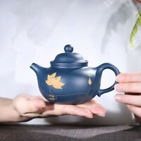 on sales yixing zisha tea pot traditional 9 infuser hole handmade republic green