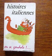 Humour   HISTOIRES ITALIENNES On se gondole! ...  Couverture de Dubout