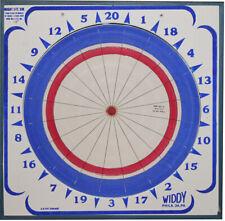 Genuine Widdy Classic Original Paper Dart Board