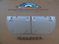 VOLVO AMAZON 121 122 REAR MUD FLAP BRACKET SET STAINLESS STEEL P/N  655598-9  !!