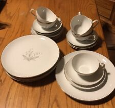 1961 Kaysons Fine China Golden Rhapsody 4-Piece Setting For 6 People 24 Pieces
