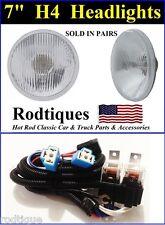 "Maxtel Headlight Relay Wiring Harness System Fix Dim Lights 7"" Round Lamps--- 5"