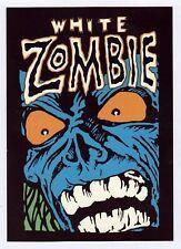 40x White Zombie - Blue Zombie - Postcard (Lot of 40 identical Postcards)