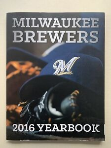2016 Milwaukee Brewers 164 Page Excellent Condition Yearbook