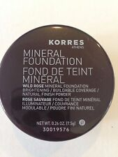 Korres Wild Rose Mineral Powder Foundation - Amber Beige - 0.26 oz Full Size