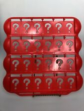 Guess who replacement game board tray red parts Milton Bradley Hasbro