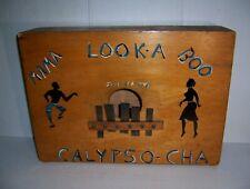 Vintage Handmade Jamaican Calypso Rhumba Box Musical Instrument