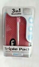 Nintendo DS Lite 3 in 1 Bundle Triple Pack  Pink