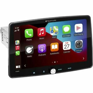 """Planet Audio P100CPA Car Receiver 10.1"""" with Apple CarPlay and Android Auto"""