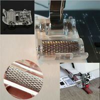 Portable Mini Low Shank Roller Sewing Machine Presser Foot Leather Household_AU