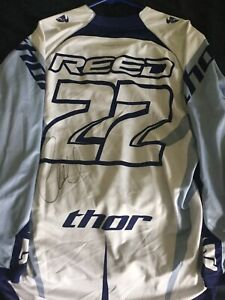 Chad Reed Original Sports Autographed Items for sale | eBay