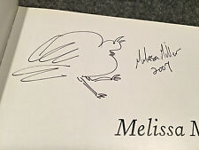 Melissa Miller by Susie Kalil. Signed by the artist with a drawing lst ed. 2007.