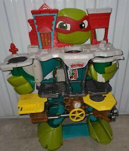 2016 Playmates TMNT Teenage Mutant Ninja Turtles Tower Playset Ralphael Sewer