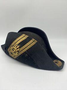 Antiker Österreichischer Kuk Marine Stulphut Zweispitz