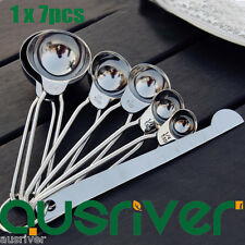 High Quality 304 Stainless Steel Measuring Spoon Set Kitchen Cooking Coffee Tool