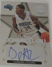 2012-13 Totally Certified Rookie Roll Call Autograph #70 DeAndre Liggins - NM-MT