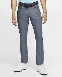 """Men's Nike Flex Slim Fit 6 Pocket Golf Trousers 30"""" x 30"""" CI9765-451"""