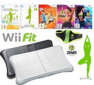 Nintendo Wii Balance Board Wii Fit Plus & Zumba | 💪 Interaktives Training 🏋️