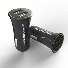 2.4A 2-Port/1A Double USB In-Car Charger Socket for Android Phone Tablet iPhone