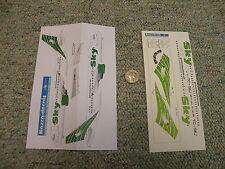 Nazca decals 1/144 Sky Airways A320 green Sky007 N72