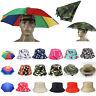 Women Men Bucket Hat Boonie Fishing Hiking Travel Cap Fishmen Hats Umbrella Hat