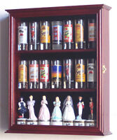 Tall Shot Glass Shooter Display Case Cabinet Rack Shotglass Holder Box
