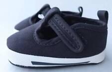 Baby Deer Navy Canvas T-Strap Sneaker  Size 0 1 2 3