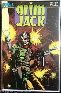 Grim Jack (Vol 1) #17 VF 1st Print Free UK P&P First Comics