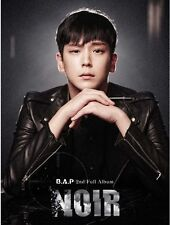K-POP B.A.P (BAP) 2nd Album [NOIR] HIM CHAN Ver. CD + Photobook + Photocard