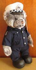 RARE Constable T Bear Edition 5 Ceremonial Bear 2004 Tag No.012015 & Hat Badge