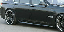 BMW F02 7 Series 2009-2015 Long Wheelbase Hamann OEM Brand Side Skirt Pair NEW