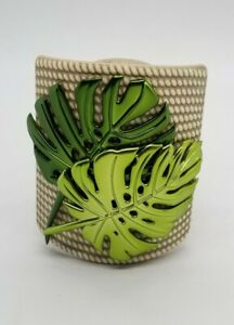 Yankee Candle Scent Plug Diffuser Monstera Leaves w/ Night Light NEW WITH TAGS