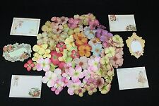 Prima Marketing 100 Hydrangea Flowers Plus 6 Prima Divine Journaling Cards