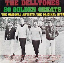 Delltones OZ ONLY OOP CD 20 golden greats NM '93 Dow Wop Rock Pop